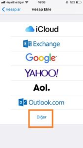 Fotoğraflarla iPhone / iOS Kurumsal Mail Kurma