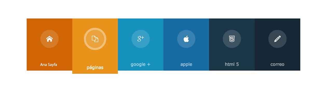 HTML 5 Menü Tasarımı Nasıl Yapılır