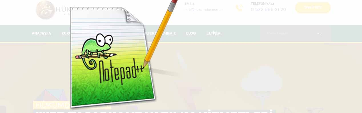 NOTEPAD++ UNKNOWN EXCEPTİON HATASI VE ÇÖZÜMÜ