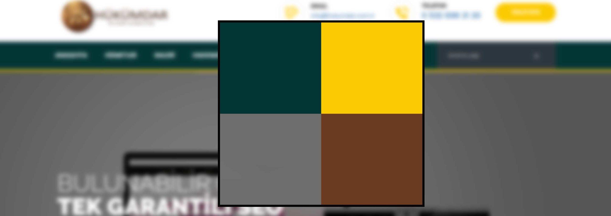 Web tasarımında kurumsal renk planlaması