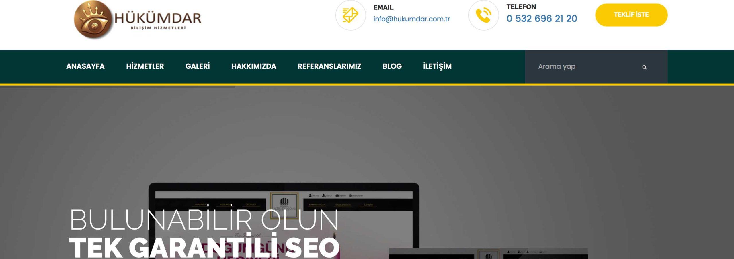 Web tasarımınız özgün olarak hazırlanmalı