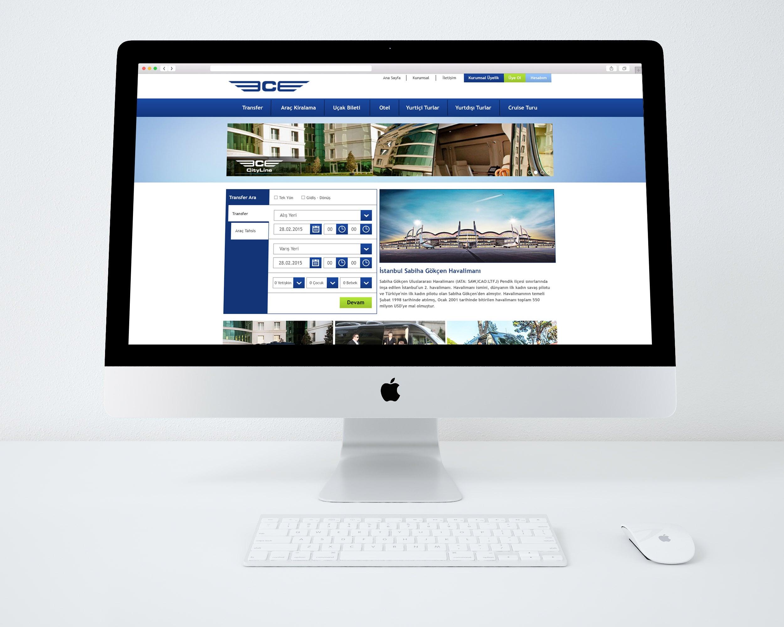 Cityline Web Tasarımı