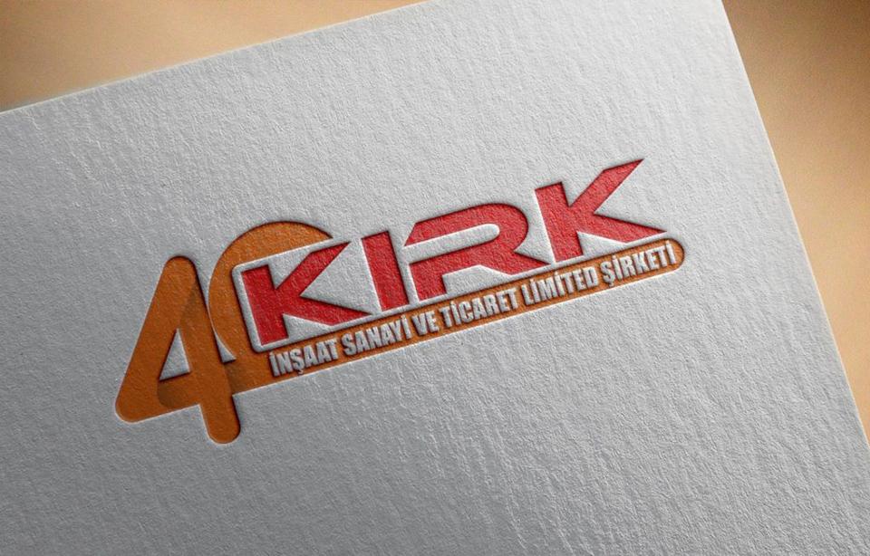 Kırk İnşaat Logo Tasarımı