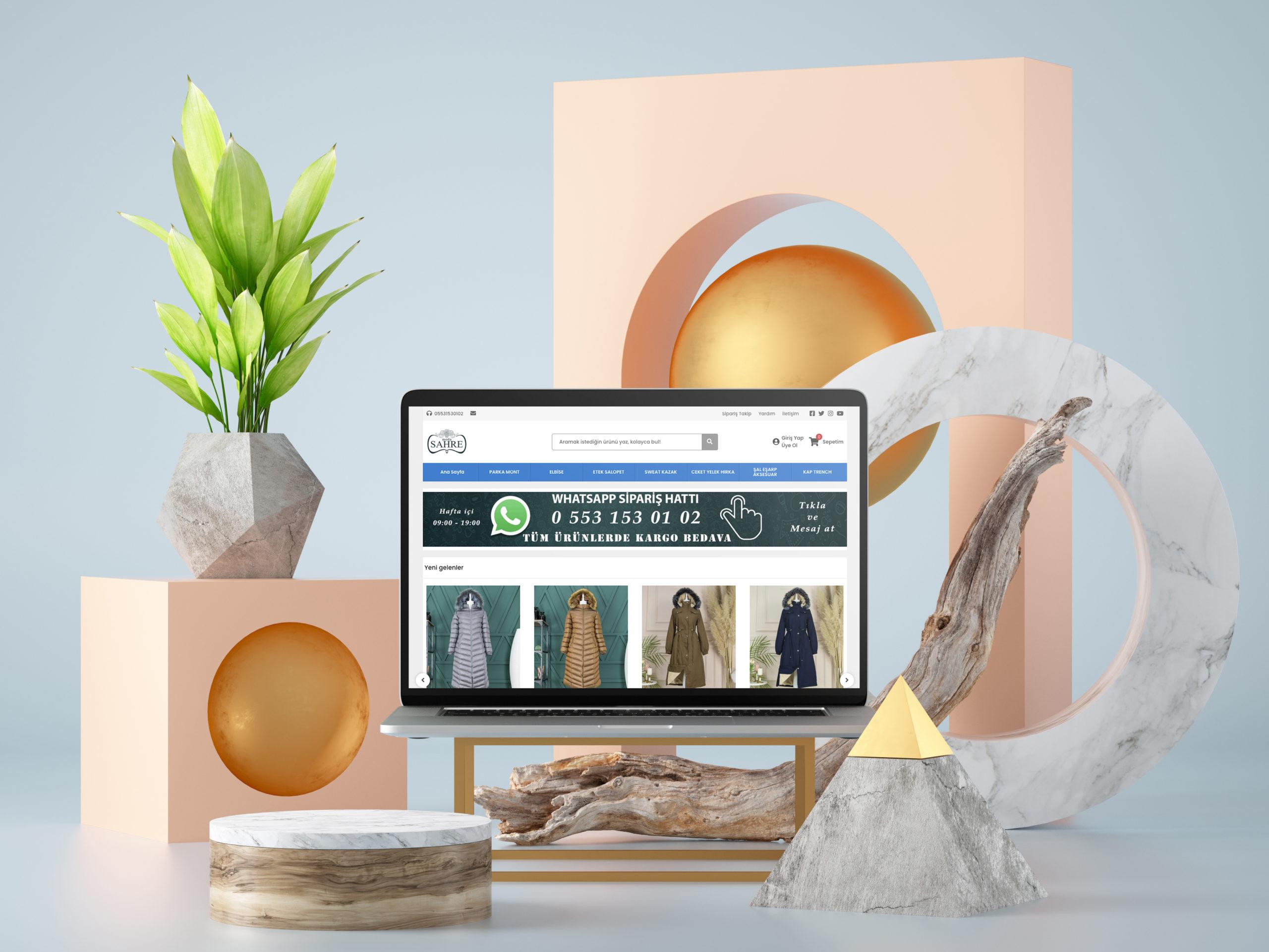 ModaSahre E-Ticaret Sistemi