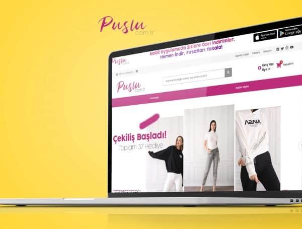 Puslu com tr E-Ticaret Sitesi