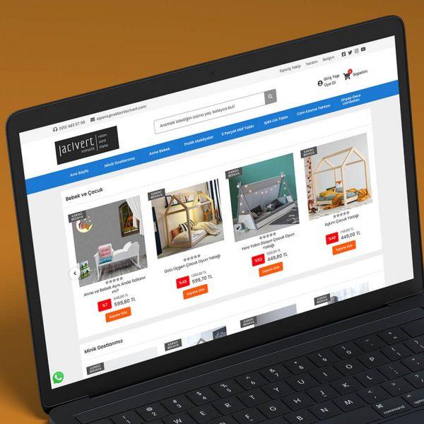 eticaret web sitesi tasarımı