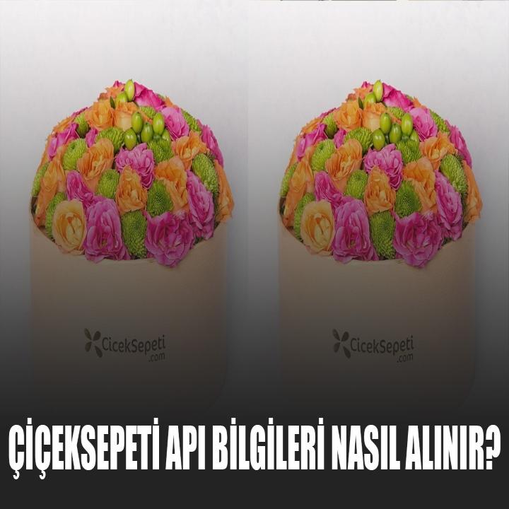 ÇiçekSepeti API Bilgileri Nasıl Alınır?